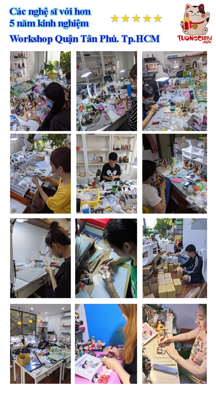 Xưởng sản xuất tượng chibi