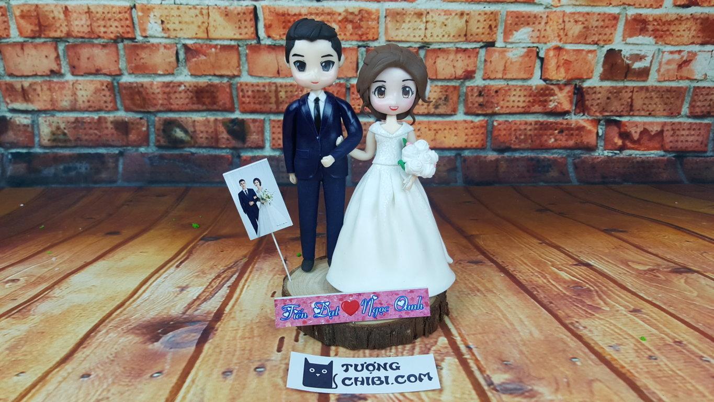 Quà cưới handmade làm từ đất sét nhật