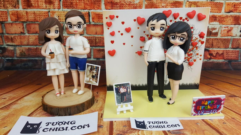 Ý tưởng tuyệt vời cho món quà sinh nhật tặng bạn gái - Tượng Chibi, Tượng Chân Dung Mini